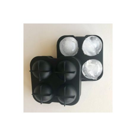 Gin box - 4 ball silicone ice cube tray