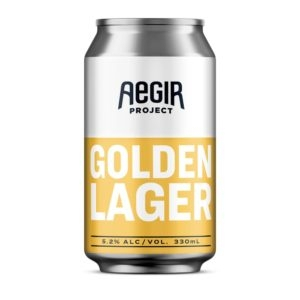 Aegir Aegir Golden Lager Beer 330ml
