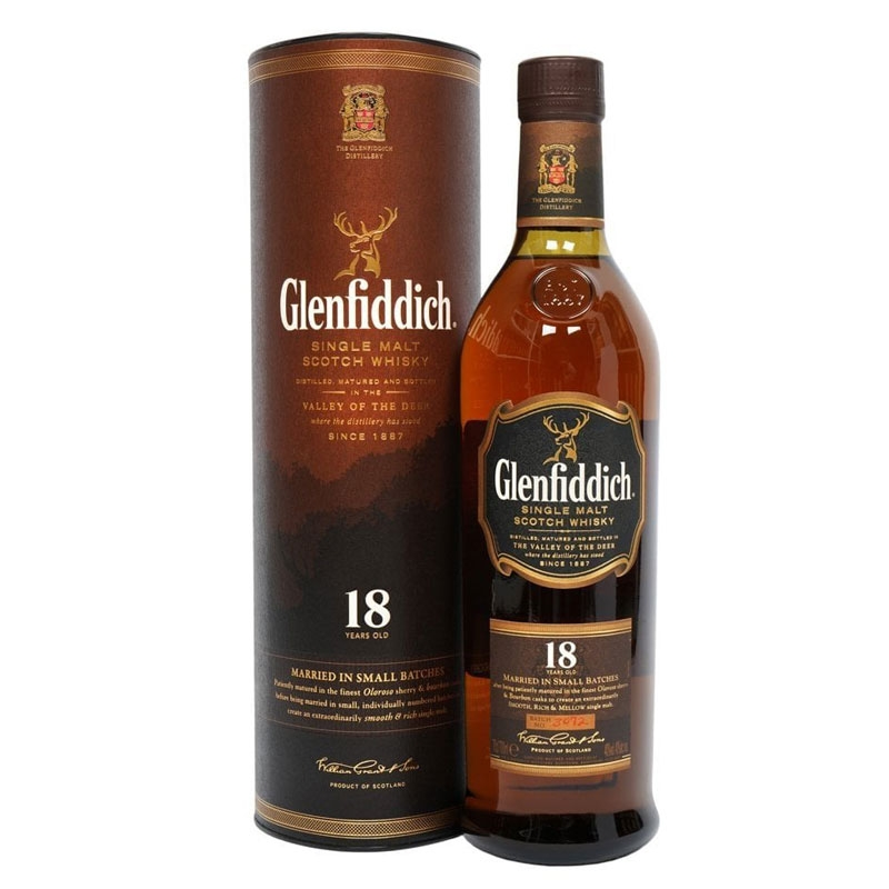 Glenfiddich Glenfiddich 18 Year Old Whisky