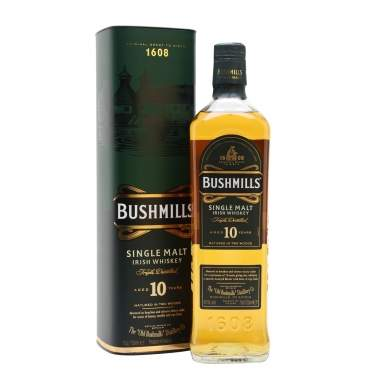 Bushmills 10 Year Old Whisky