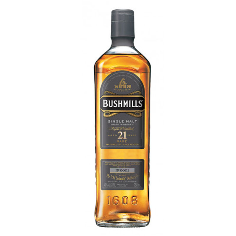 Bushmills 21 Year Old Whisky